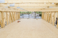 Attic Space Formed by Lattice Trusses