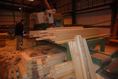Truss Timber Cutting